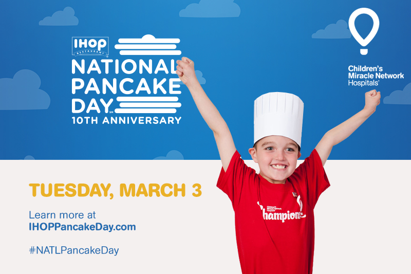 #NATLPancakeDay at @IHOP IS FINALLY HERE! http://t.co/EFhwOR9U2W