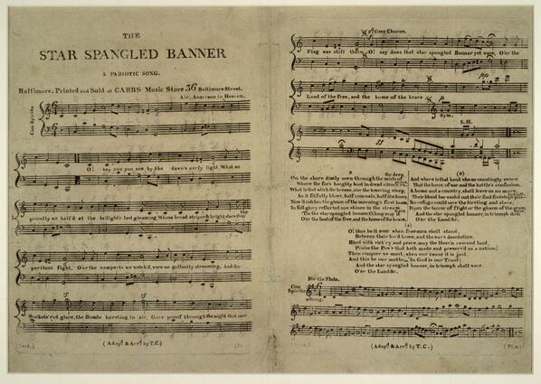 "#OnThisDay in 1931, Hoover signs a congressional act making ""The Star-Spangled Banner"" the official national anthem http://t.co/wQIyQbkiFC"