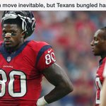 Solid take on Andre move from @JeromeSolomon. Inevitable, but poorly handled by #Texans. http://t.co/stHb0rVZbb http://t.co/DMPp6UXUwC