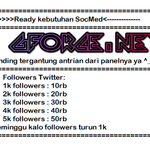 open order followers instagram 100followers = 10rbu 200followers = 20rbu pembayaran via pulsa telkomsel http://t.co/czqKuWwsLA