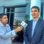 #TuVotoES nuestro periodista @VictorMenjivar en entrevista con candidato @Miguelpereirasv. @RadioSonoraSv http://t.co/H6TfAUXIYx