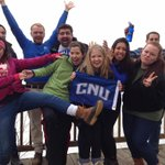 CNU Captains making a difference over spring break at the Jug Bay Wetlands Sanctuary!???? #CNUDay15 http://t.co/XYQi9JBCns