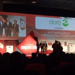 Best Mobile Device for Accessibility and Inclusion at #MWC15 for @DoroUK_Ireland #MWCLive http://t.co/9hbH5awW48