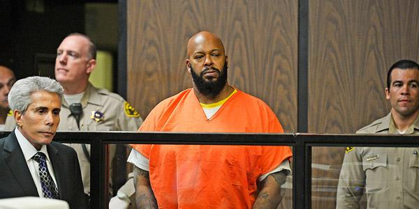 Suge Knight has been hospitalized again after telling the judge he's suffering from blindness