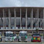 Caminhoneiros se reúnem em Brasília para protesto http://t.co/B4k2NOhlsg http://t.co/4WDXSSFyj1