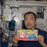 Dolls Festival in #Spacestation #ひな祭り を祝おう http://t.co/epZ6E2L0Fp