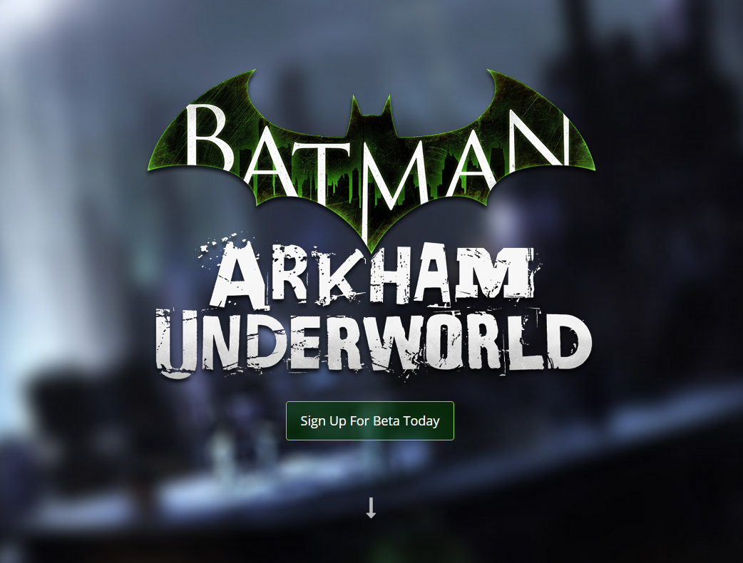Proud to announce that we are working on #Batman: Arkham Underworld for iOS! Full Story: http://t.co/SHJEaoRo9V http://t.co/kAk6tUPaUg