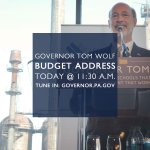 LIVE @ 11:30 A.M. → Watch Governor Tom Wolf deliver his budget address at http://t.co/VDEURJp1Ix. #PAbudget #PAgov http://t.co/bfvV34V53Z
