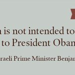 #Quote of the Day from Israeli Prime Minister Benjamin #Netanyahu: http://t.co/CUsHdwOhh8
