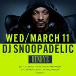 Catch me #DJANOOPADELIC live March 11 @ club hooray henrys Hollywood ! http://t.co/K0a3d4FjCo