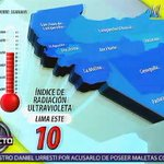 [VIDEO] Toma tus precauciones porque la radiación UV comenzó a incrementarse http://t.co/PYOS57segt http://t.co/zAV9mSuvpb
