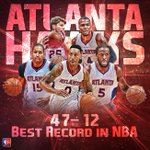 The @ATLHawks put their NBA-best record on the line tonight, as they face the Rockets. Coverage starts at 7 PM ET! http://t.co/XexZq3buHw