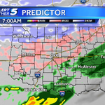 Oklahoma 7am Weds projected radar: OKC AM commute will be a mess. Seriously... http://t.co/avzkdUYOW9