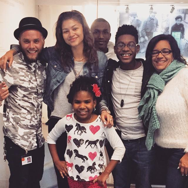 We were thrilled to host zendaya kamil_mcfadden and the_trinitee from disneychannel's kcundercovertv last fri. What… http://t.co/4ijHAwOLbR