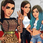 Oh hi girls! Welcome to my world! Get the new update of my game & see @kendalljenner @kyliejenner #KimKardashianGame http://t.co/SGUKhRBJmO