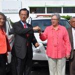 Taiwán entrega 80 ambulancias al Sistema de Seguridad y Atención a Emergencia 911 @PresidenciaRD @911GobDo http://t.co/zsuCYWZAlK