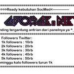 lanjut besok jasa tambah followers insragram 100followers 10rbu pulsa telkomsel 200followers 20rbu pulsa telkomsel http://t.co/lZVUlNwaOr