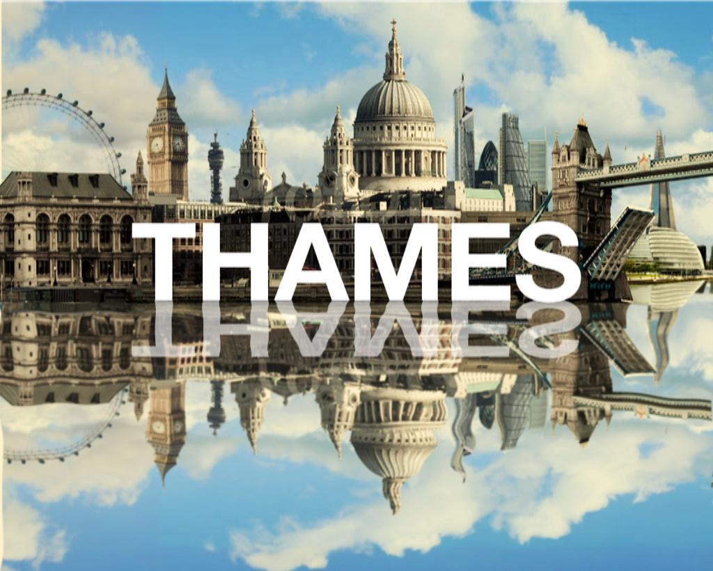 Last night apropos of nothing I wondered if I could recreate the Thames logo with modern pics. Then I updated it too: http://t.co/6XQxPbR2Uy