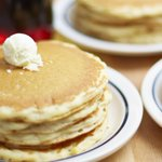 Getcha getcha... FREE pancake on. One short stack per guest. Dine in only. Learn more here: http://t.co/lMP1olhYMB http://t.co/wJLNLAvMsZ