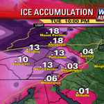 Potential #ice accumulation through tonight @fox29philly careful on untreated roads http://t.co/a0drb1lEKF