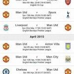 """@Football__Tweet: Manchester Uniteds fixture list for March and April. Good luck. #MUFC http://t.co/qGOzwSjb1O"" Calm."