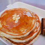 Happy #NationalPancakeDay! Celebrate with this deliciously fluffy short stack from Jose Chiquito at the Market! #dtla http://t.co/ItQndIAY4E