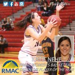 CONGRATS Katie Nehf on being voted #RMACWBB Defensive Player of the Year and 1st-team all-conference! #ThePackWay http://t.co/wSLeukxWCF