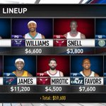 Check out @NBAcom's @NBAFantasy/@FanDuel suggestions for tonight's 7 game schedule: http://t.co/SgUQBSSK0x