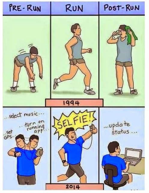 """#Running in 1994 vs """"running"""" in """"modern"""" times. Personally, I miss the good old days. http://t.co/rxQLM6accV"""