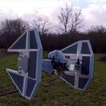 A Star Wars fan has made an amazing replica of the Galactic Empire TIE Interceptor http://t.co/UV7ksFBoJD http://t.co/7HbsvOF5JZ