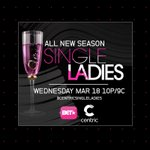 An ALL NEW SEASON of Single Ladies premieres WED 3|18 at 10P|9C on @CENTRICTV + @BET #CentricSingleLadies You Ready? http://t.co/YXCy2LE53Z