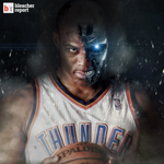 Report: After missing just 1 game, @russwest44 is likely to return Wed. with a protective mask http://t.co/qscMX8ES07 http://t.co/3Or5fQwbVV