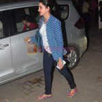 RT @ShrutiSethFC: Shruti Seth with hubby at Rajkumar's screening in Sunny Super Sound on 2nd March 2015