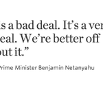 Israeli Prime Minister Benjamin Netanyahu calls on Congress to block emerging Iran deal: http://t.co/gp2HKayWVv http://t.co/k0uwH6ECgf