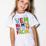 mano cês viram essa camiseta que tá sendo vendida pra criança na loja do huck? http://t.co/M3Ehu8eSLw
