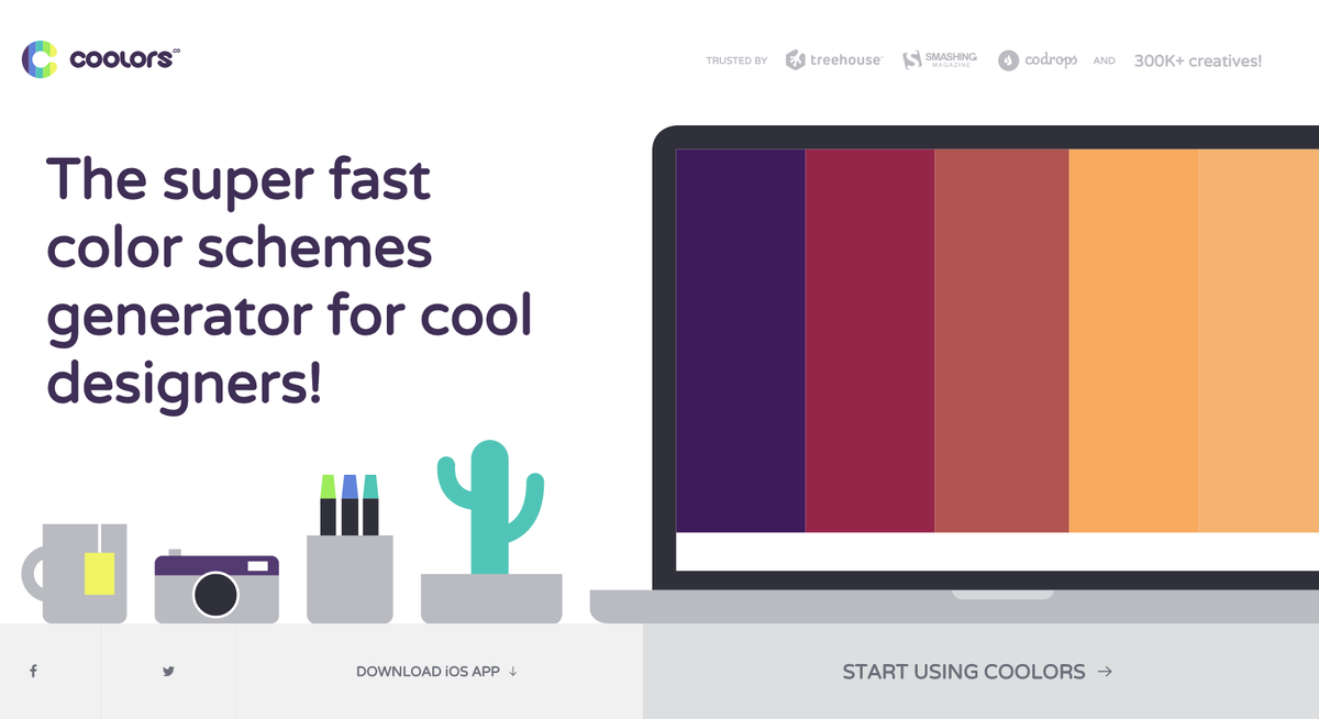 Generate thousands of color combinations with @coolors_co #colorgenerator #design #coolors http://t.co/8LBLg8cKNh http://t.co/a4CXl3X33y