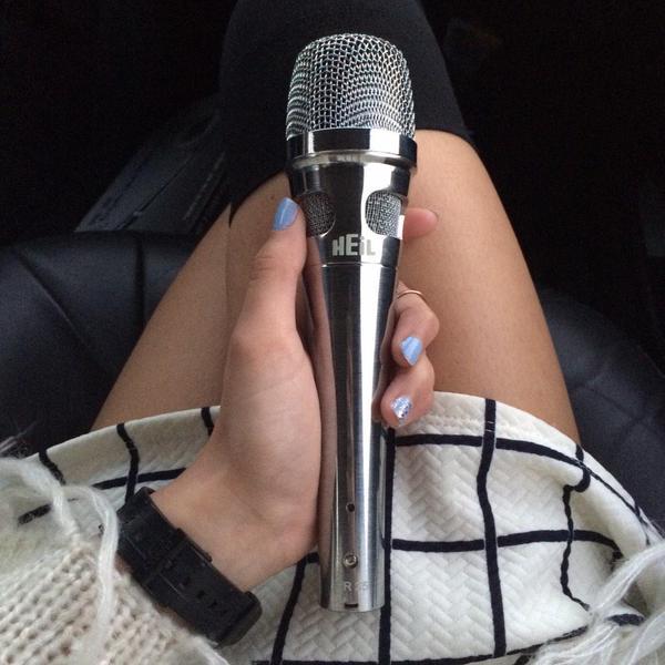 Soraya, the lead singer for Night Talks showing off her chrome PR 35. Where's yours? http://t.co/hZimApfOJg http://t.co/hA2guLXb7f