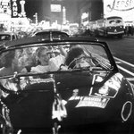 Girls Riding in a Convertible on Broadway in 1949 - Photo by Louis Faurer | #NYC #NY http://t.co/fowHOukj2X