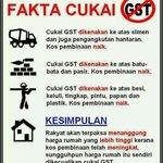 RT @PutraREFORMASI: Fakta GST yang harus anda tahu...#KitaLawan http://t.co/qjlPzlz5bN #FaktaTerbaekSokong