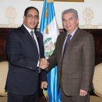 Reunión de trabajo con el Presidente del Congreso de Guatemala Diputado Luis Armando Rabbé. @rcavada @MIREXRD @dddiaz http://t.co/eCTJX2h6uV
