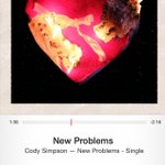 So proud of my bro @CodySimpson. Following his heart and making beautiful music #NewProblems http://t.co/XLH83jr7AL