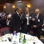 Reçu ce soir par le Cobaty au mas de Saporta en présence de 300 professionnels de la construction #Montpellier http://t.co/ok9fI2m5Yl