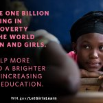 """""""Wherever they live, whoever they are, every girl on this planet has value."""" —President Obama #LetGirlsLearn http://t.co/vlHzYc3PVv"""