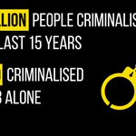 Lives ruined by drug laws rather than drugs themselves? Yep. #DrugsLive (Figures are for drug possession.) http://t.co/jdfSgru9Ru