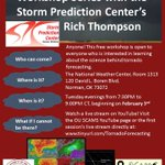 Tornado Forecasting Workshop 7:30-9:00 PM CST this evening (March 3): http://t.co/otkzHP3D4v http://t.co/WrJuaH0o2O