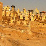 """IS destroyed Assyrian Christian cemetery in Telkepe, Nineveh using bulldozers. No peace for the dead either. #WeAreN http://t.co/S4zVoJdNZA"""""""