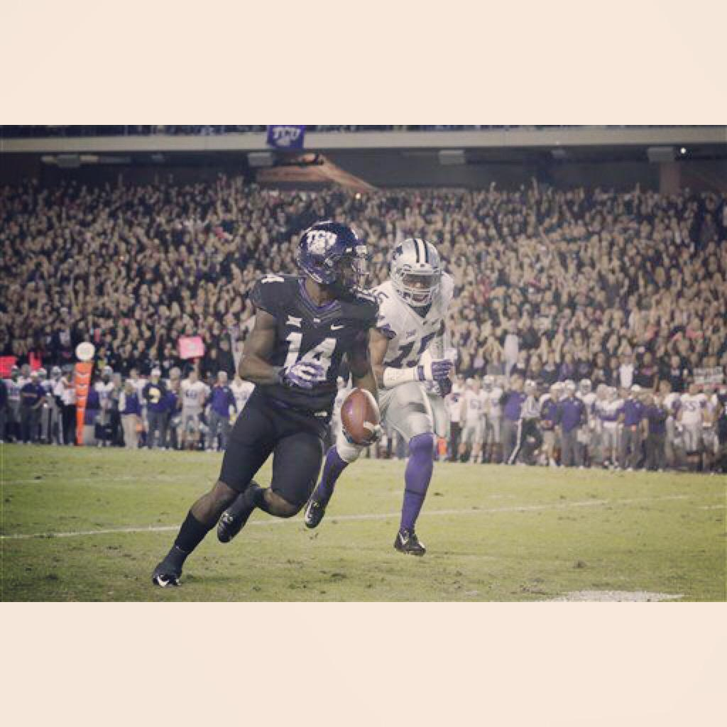 I was running for 6 with my woes! s/o to @TCUstudentsect for having #TheCarter rocking this game! (and all season) http://t.co/qFMbai9nVE
