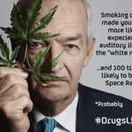 Did you hear a voice in the white noise test? Dont worry, its not unusual... #DrugsLive http://t.co/ea2Nzz0hKT