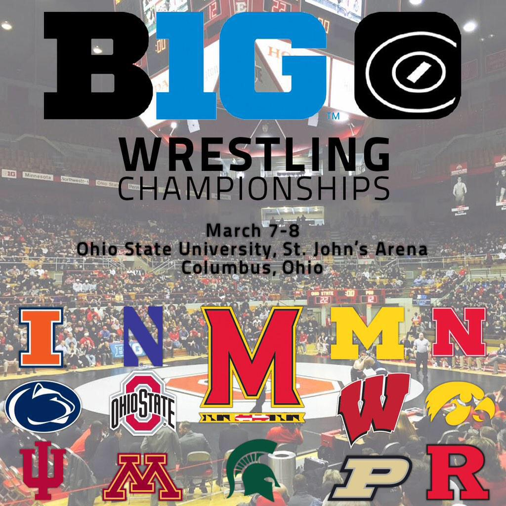 How to watch the #OhioState @wrestlingbucks at the #B1GWRE15 on @BigTenNetwork  http://t.co/TfK2ZzaFVj http://t.co/noKResOn5N