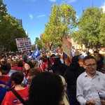 Crowd building in Melbourne #march4 @ASU_VICPS @ASUnion http://t.co/5sF7cudhkA
